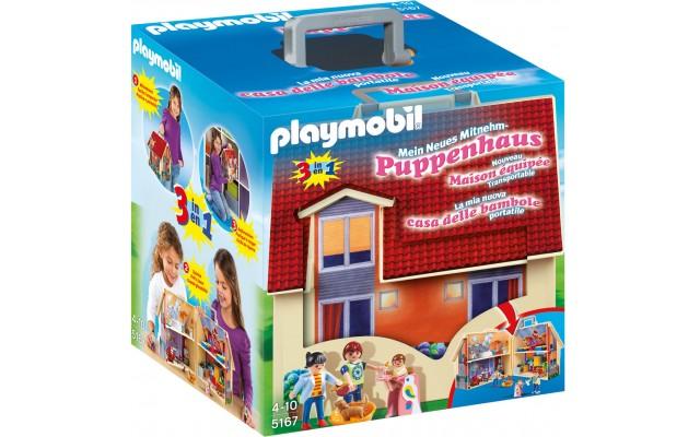 """Playmobil 5167 - Кукольный дом """"Возьми с собой"""" - конструктор Плеймобил Dollhouse"""