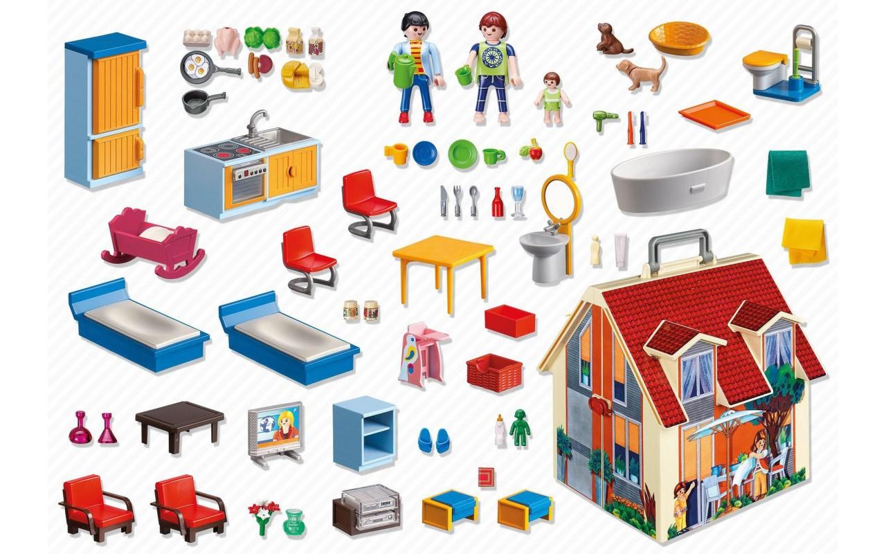 Playmobil 5167 for Casa moderna de playmobil 123