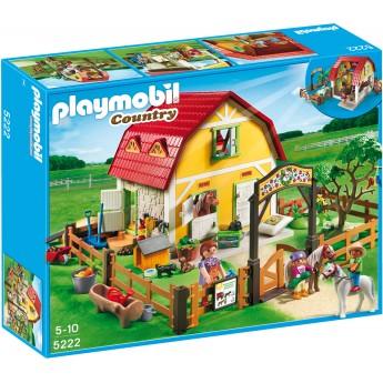 Playmobil 5222 - Набор Конюшня для пони - игровой набор Плеймобил Country