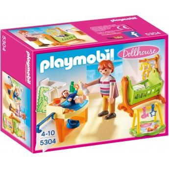 Playmobil 5304 - Детская комната с колыбелью - игровой набор Плеймобил Dollhouse