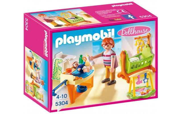 Playmobil 5304 - Дитяча кімната з колискою - ігровий набір Плеймобіл Dollhouse
