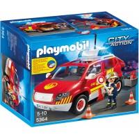 Playmobil 5364 - Пожежна машина зі світлом і звуком - машинка Плеймобіл City Action