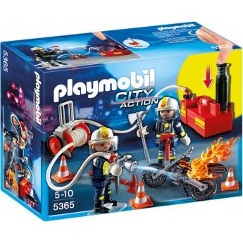 Playmobil 5365 - Пожарники с водяным насосом - игровой набор Плеймобил City Action