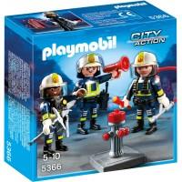 Playmobil 5366 - Команда пожежників з обладнанням - ігровий набір Плеймобіл City Action