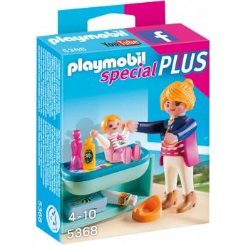 Playmobil 5368 - Мама з дитиною і столик - фігурки Плеймобіл Special Plus