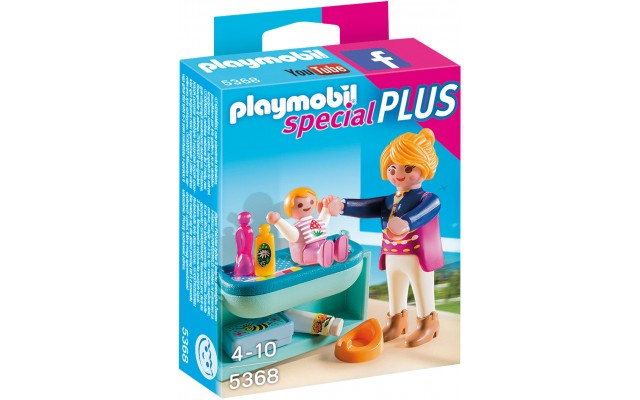 Playmobil 5368 - Мама с ребенком и столик - фигурки Плеймобил Special Plus