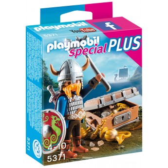Playmobil 5371 - Викинг с сокровищами - фигурка Плеймобил Special Plus