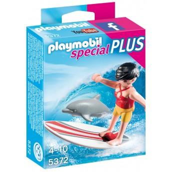 Playmobil 5372 - Серфингист с доской - фигурка Плеймобил Special Plus