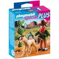 Playmobil 5373 - Ковбой с жеребенком - фигурки Плеймобил Special Plus