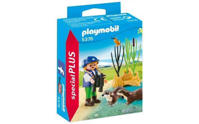 Playmobil 5376 - Юний натураліст з видрами - фігурки Плеймобіл Special Plus