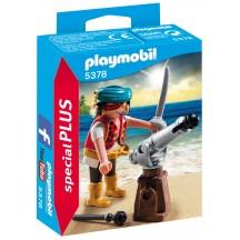 Playmobil 5378 - Пират с пушкой - фигурка Плеймобил Special Plus