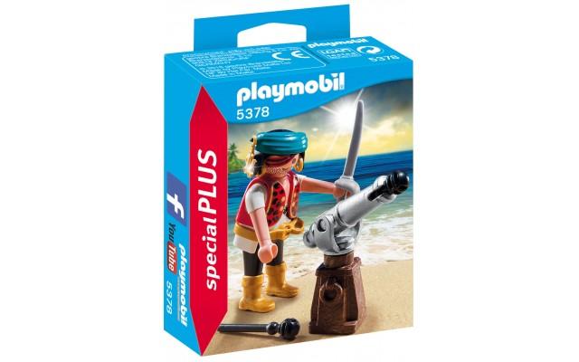 Playmobil 5378 - Пірат з гарматою - фігурка Плеймобіл Special Plus