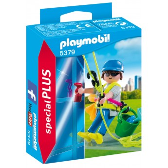 Playmobil 5379 - Чистильщик окон - фигурка Плеймобил Special Plus