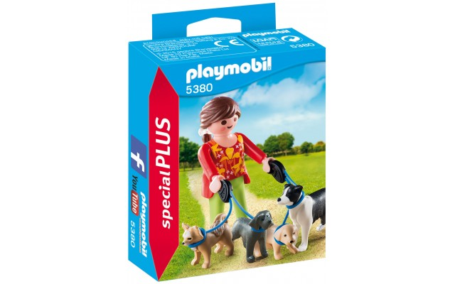 Playmobil 5380 - Девушка с собаками - фигурки Плеймобил Special Plus