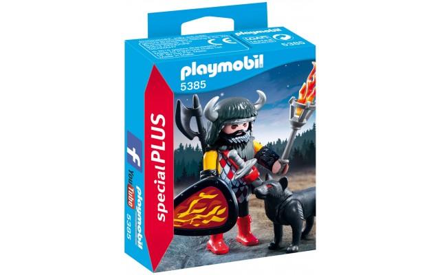 Playmobil 5385 - Воин с волком - фигурки Плеймобил Special Plus