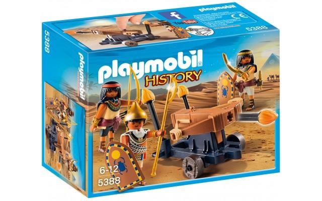 Playmobil 5388 - Египетские войска с баллистой - игровой набор Плеймобил History
