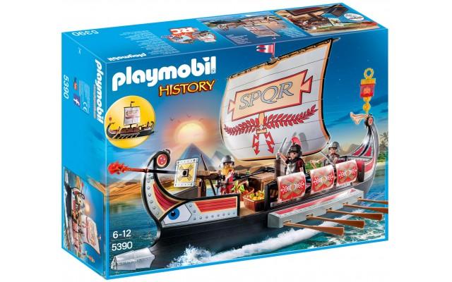 Playmobil 5390 - Корабль римских воинов - игровой набор Плеймобил History