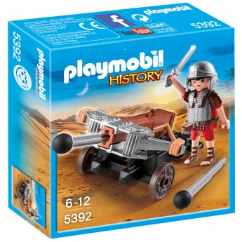 Playmobil 5392 - Легионер с баллистой - игровой набор Плеймобил History