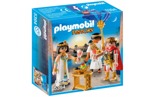 Playmobil 5394 - Цезарь и Клеопатра - игровой набор Плеймобил History