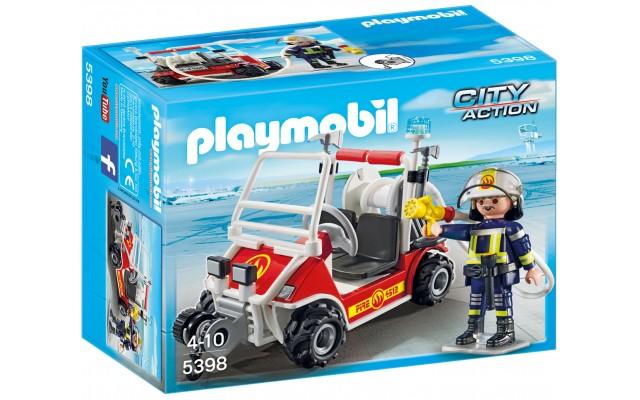 Playmobil 5398 - Пожарный квадроцикл - машинка Плеймобил City Action