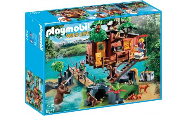 Playmobil 5557 - Домик на дереве - игровой набор Плеймобил Wild Life
