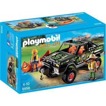Playmobil 5558 - Пикап с лодкой - игровой набор Плеймобил Wild Life