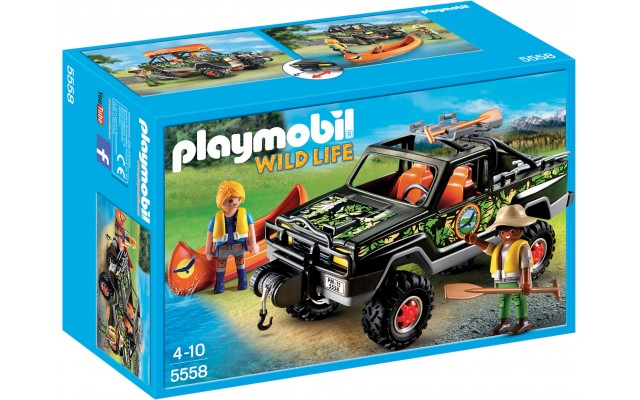 Playmobil 5558 - Пікап з човном - ігровий набір Плеймобіл Wild Life
