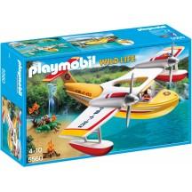 Playmobil 5560 Пожарный самолет-гидроплан - игрушка Плеймобил
