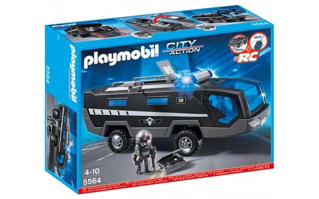 Playmobil 5564 - Автомобиль команды спецназа - игровой набор Плеймобил City Action