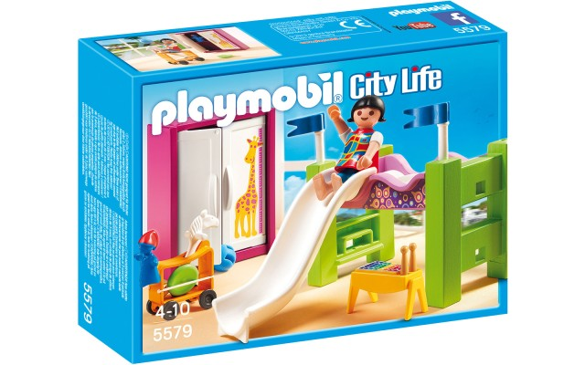 Playmobil 5579 Детская комната с горкой и двухэтажной кроватью - игровой набор Плеймобил