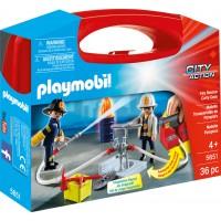 Playmobil 5651 - Пожарная бригада (кейс) - игровой набор Плеймобил City Action
