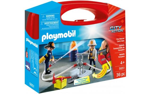 Playmobil 5651 - Пожежна бригада (кейс) - ігровий набір Плеймобіл City Action