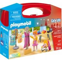 Playmobil 5652 - Барбі на велосипеді (кейс) - ігровий набір Плеймобіл City Life