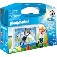 Playmobil 5654 - Футбол (кейс) - игровой набор Плеймобил Sports & Action