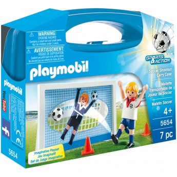 Playmobil 5654 - Футбол (кейс) - ігровий набір Плеймобіл Sports & Action