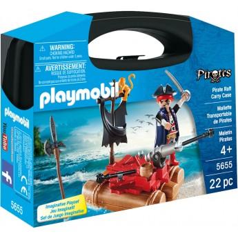 Playmobil 5655 - Пиратский плот (кейс) - игровой набор Плеймобил History