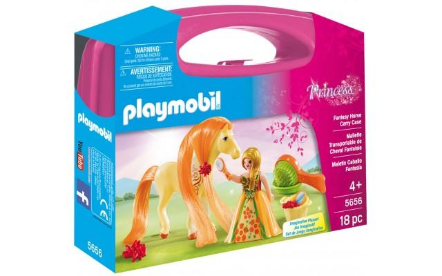 Playmobil 5656 - Фентезийная лошадка (кейс) - игровой набор Плеймобил Princess