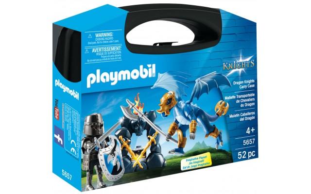 Playmobil 5657 - Рыцари дракона (кейс) - игровой набор Плеймобил History