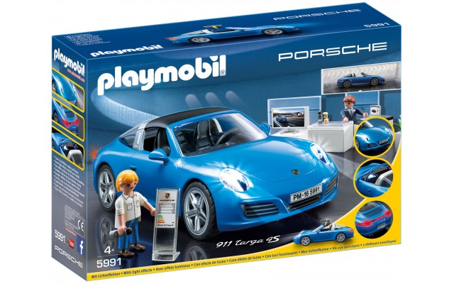 Playmobil 5991 - Porsche 911 Targa 4S - машинка Плеймобил Sports & Action