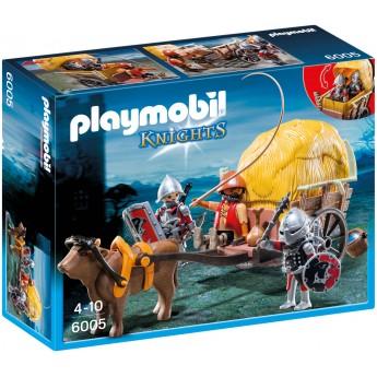 Playmobil 6005 Рыцари Ястреба в маскировочной повозке - игровой набор Плеймобил