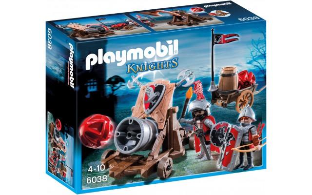 Playmobil 6038 - Пушка лицаря - яструба - ігровий набір Плеймобіл Knights