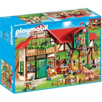 Playmobil 6120 - Велика Ферма - конструктор Плеймобіл Country