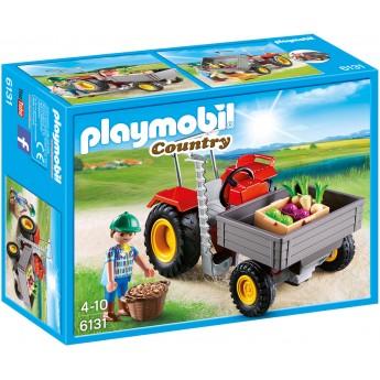 Playmobil 6131 Трактор для сбора урожая овощей - игровой набор Плеймобил