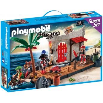 Playmobil 6146 - Піратський Форт - конструктор Плеймобіл Pirates