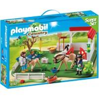 Playmobil 6147 - Загон для лошадей - конструктор Плеймобил Country