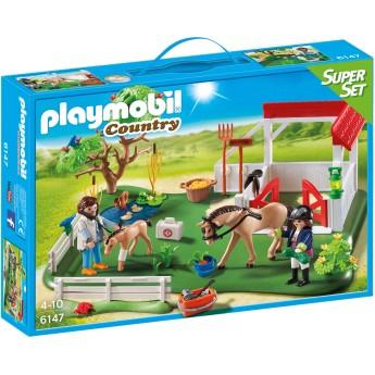 Playmobil 6147 - Загін для коней - конструктор Плеймобіл Country