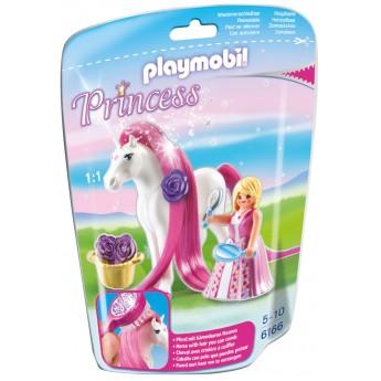 Playmobil 6166 - Принцесса Розали с Лошадью - игровой набор Плеймобил Princess