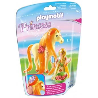 Playmobil 6168 - Принцесса Санни с Лошадью - игровой набор Плеймобил Princess