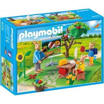 Playmobil 6173 Школа зайчиков - игровой набор Плеймобил