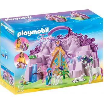 Playmobil 6179 - Переносной сад единорогов - игровой набор Плеймобил Fairies